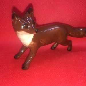 🦊STANDING BESWICK STANDING FOX FIGURINE ENGLAND